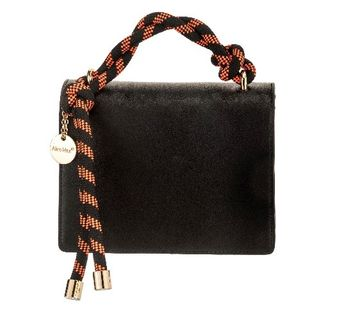 Black Rope Handle Handbag