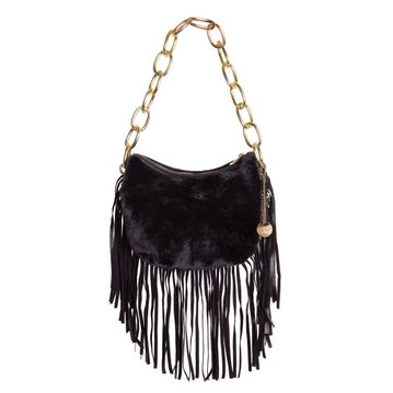Tassel 3 Bag in Black